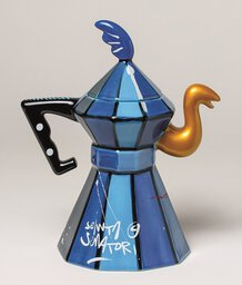 ST00500 - 2.Coffee-Teapot Blue - The Made in Italy Super Original Coffee Pot - Image 2.jpg