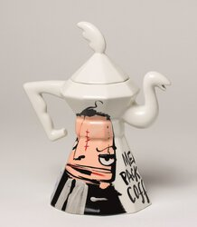 ST00501 - 2.Coffee-Teapot White - Chicago Twins - Image 2.jpg